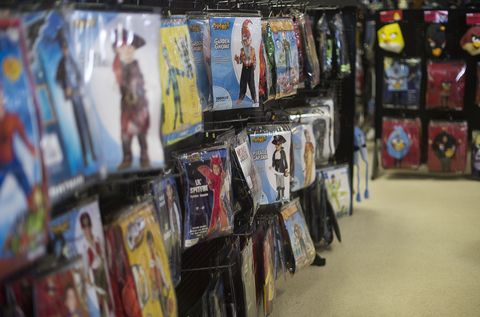 Halloween Pop Up Shop Dangers
