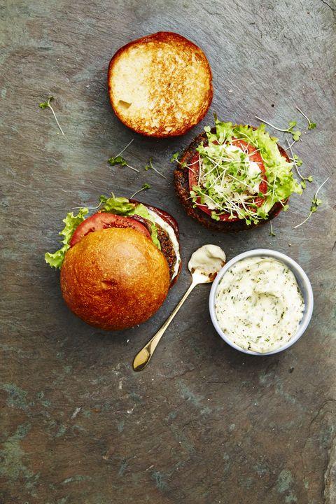 Mushroom Quinoa Burger — Healthy Sandwiches