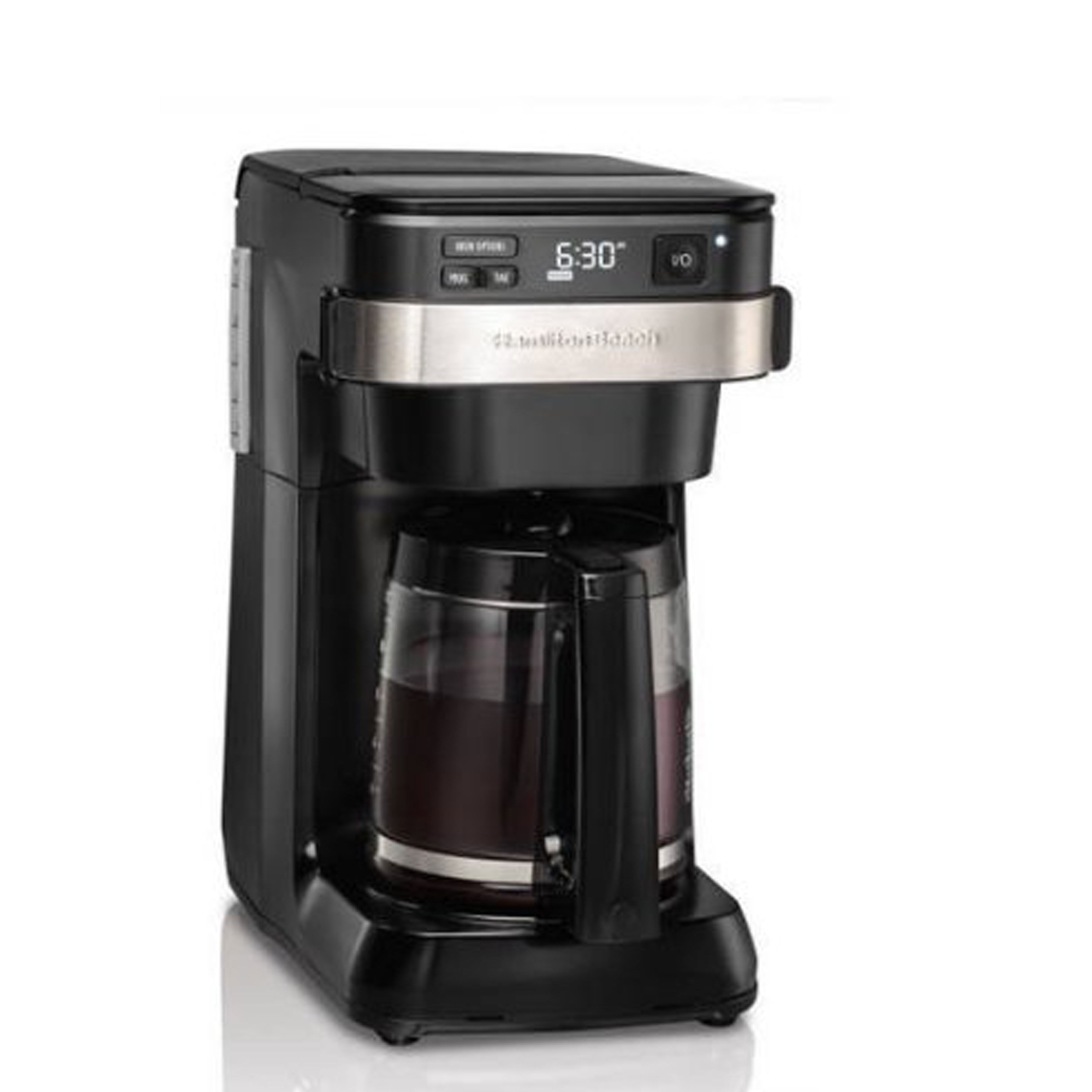 Hamilton Beach Programmable Easy Access 12-Cup Coffeemaker Review, Price  and Features