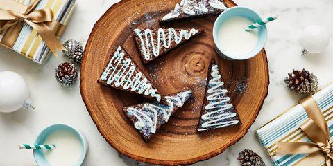 How To Make Brownie Christmas Trees - Fun Brownie ...