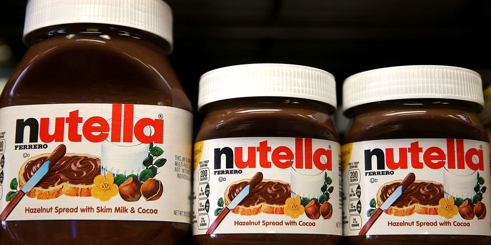 The FDA Wants You to Eat Less Nutella - Nutella Serving