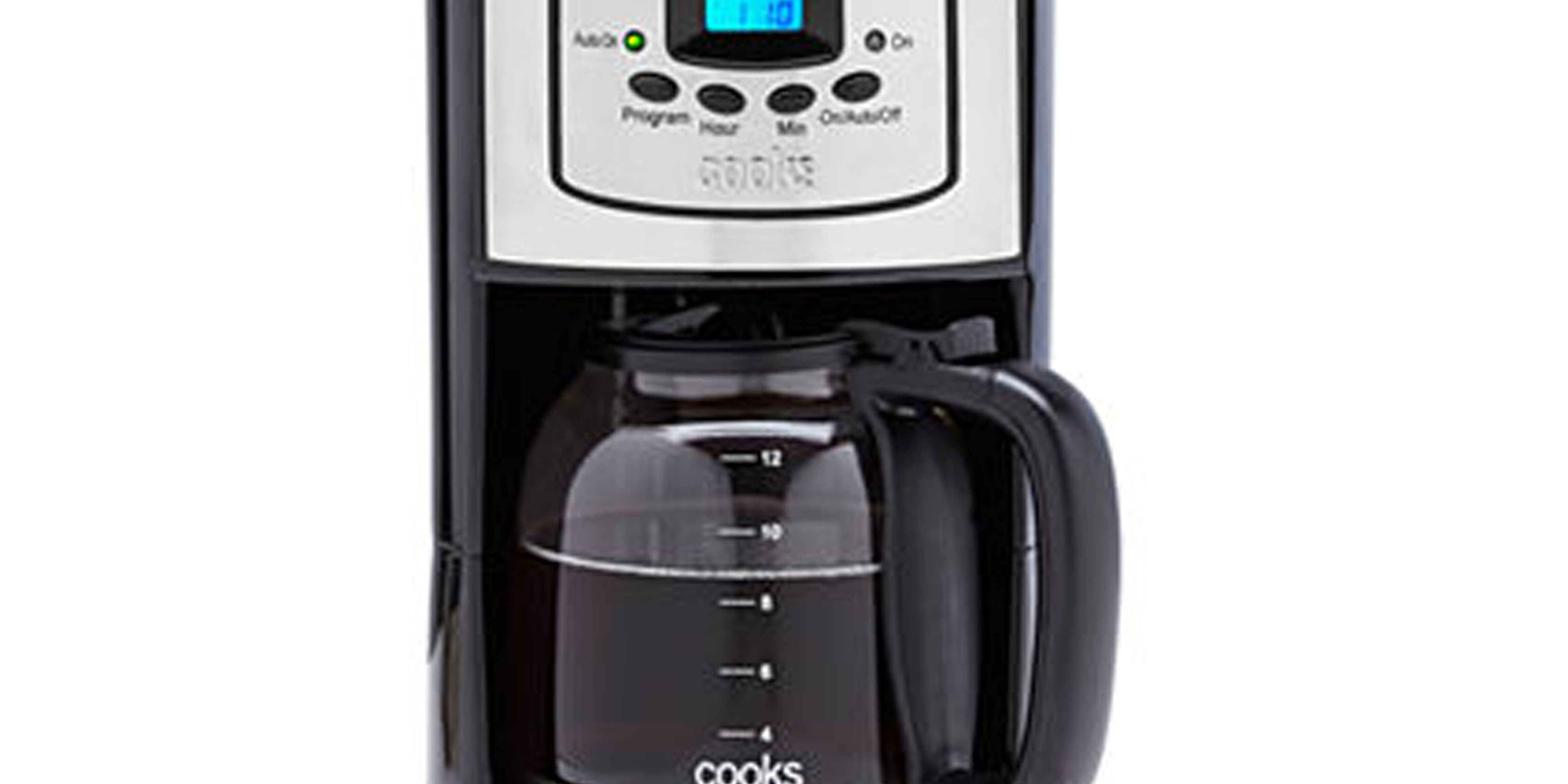 cooks 12 cup coffeemaker review price and features rh goodhousekeeping com Cooks Coffee Maker Programmable Cooks Coffee Maker Programmable