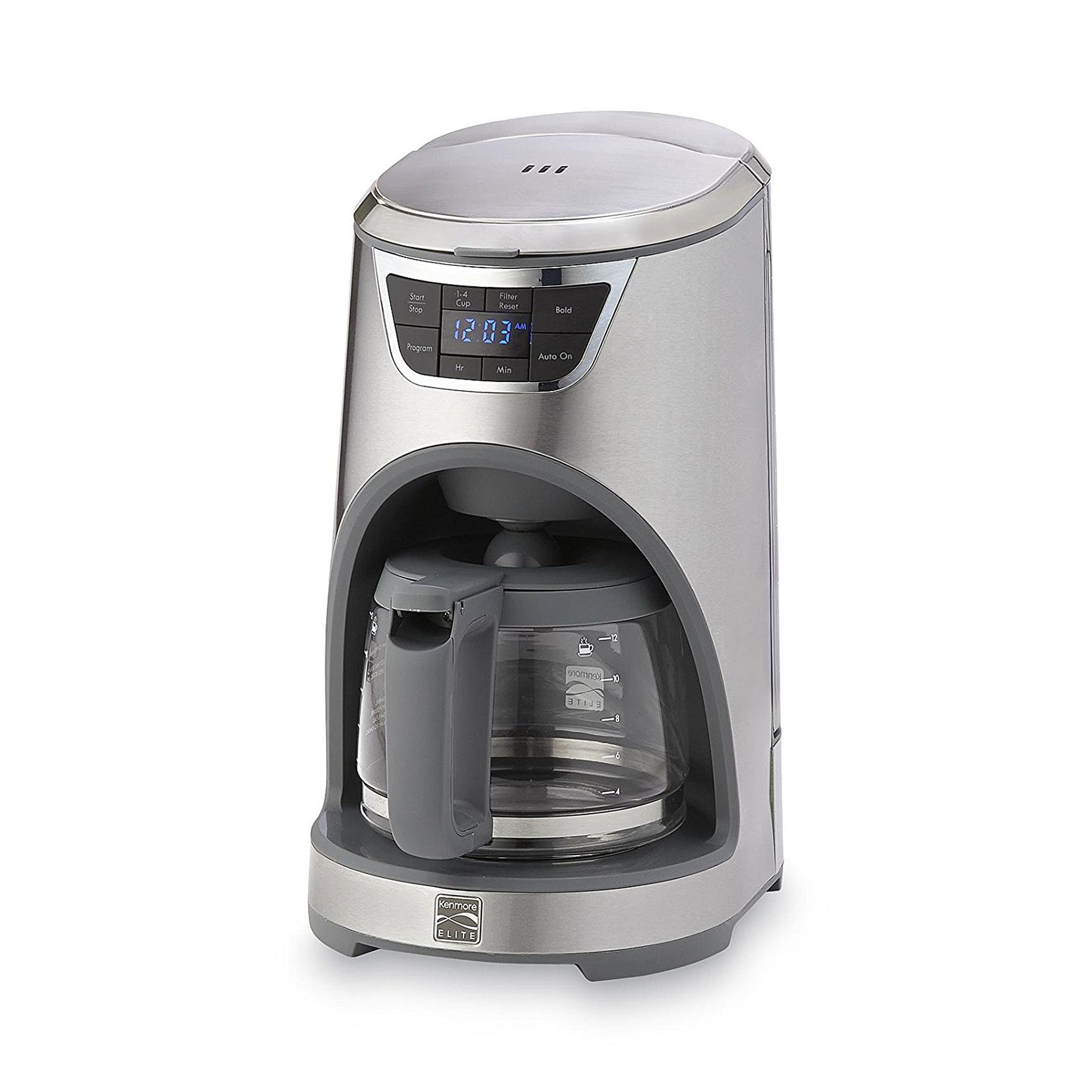 kenmore elite drip coffeemaker review price and features rh goodhousekeeping com Sears Kenmore Coffee Makers kenmore elite coffee maker grinder manual