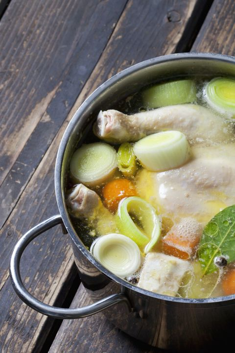 Homemade Chicken Broth How To Make Chicken Broth