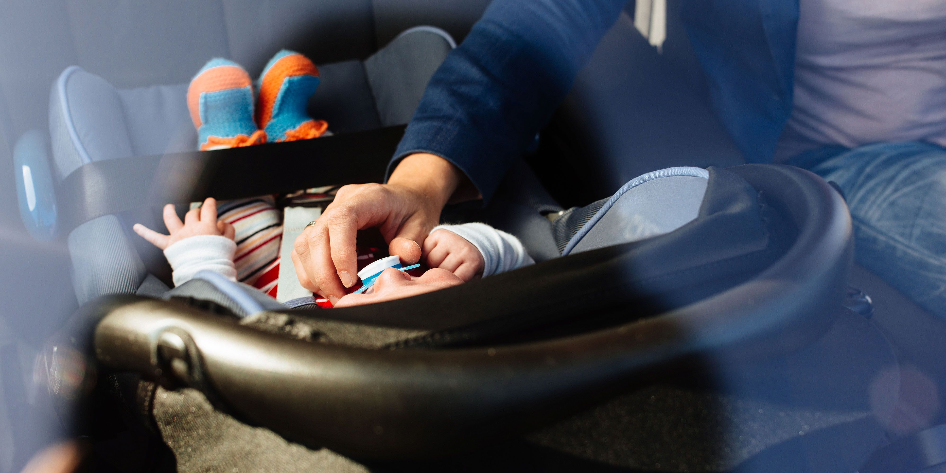 Newborn Babies Shouldn't Be in a Car Seat for More Than 30