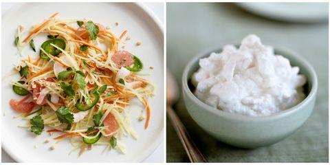 Food, Cuisine, Ingredient, Dish, Recipe, Dishware, Garnish, Salad, Bowl, Produce,