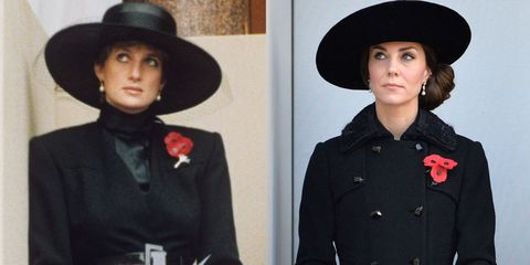Diana and Kate Remembrance Sunday