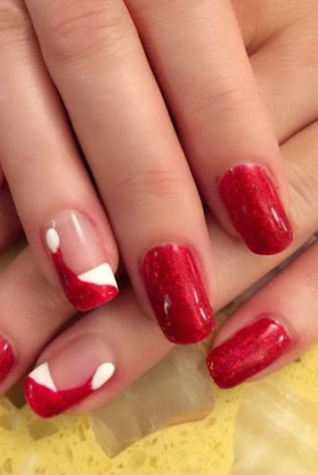 32 Festive Christmas Nail Art Ideas - Easy Designs for Holiday Nails