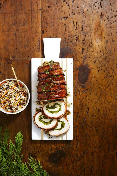 Glazed Bacon-Wrapped Turkey Breast