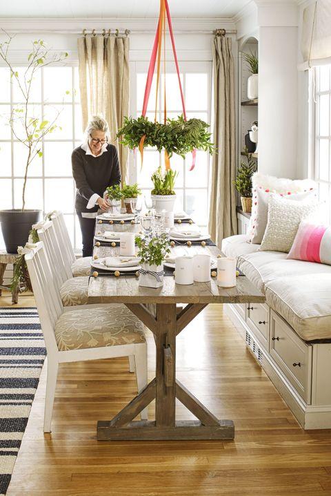 40 DIY Christmas Table Settings and Decorations ... - photo#6