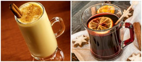 Eggnog or Mulled Wine