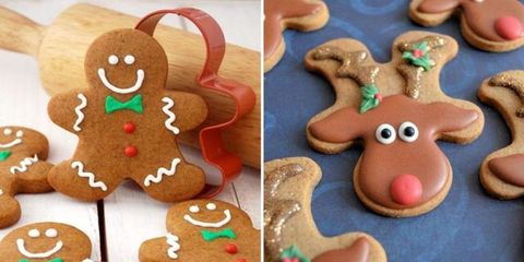 Gingerbread Man Cookie Hack Christmas Cookie Trick