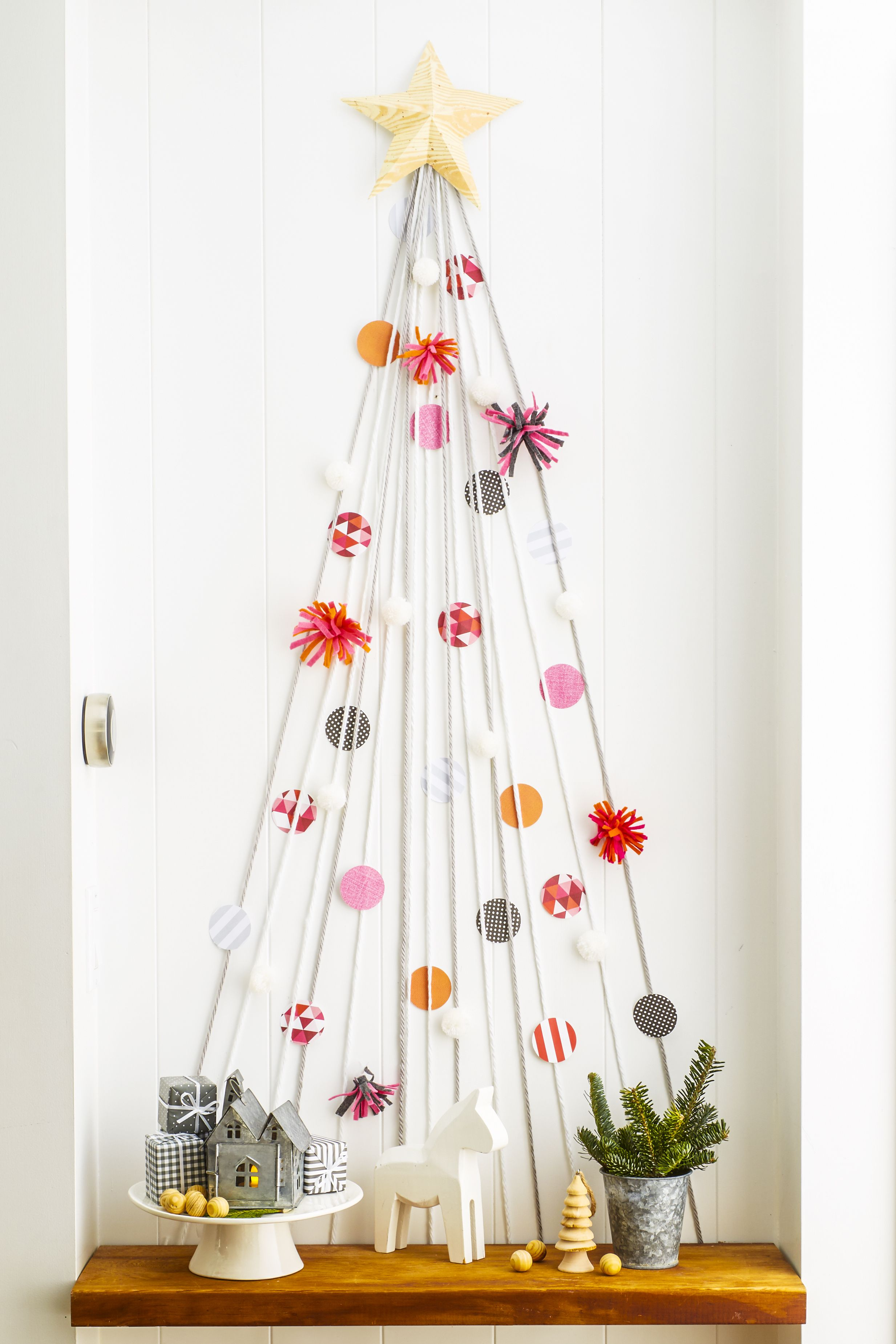 christmas decoration ideas & Remake the Bed