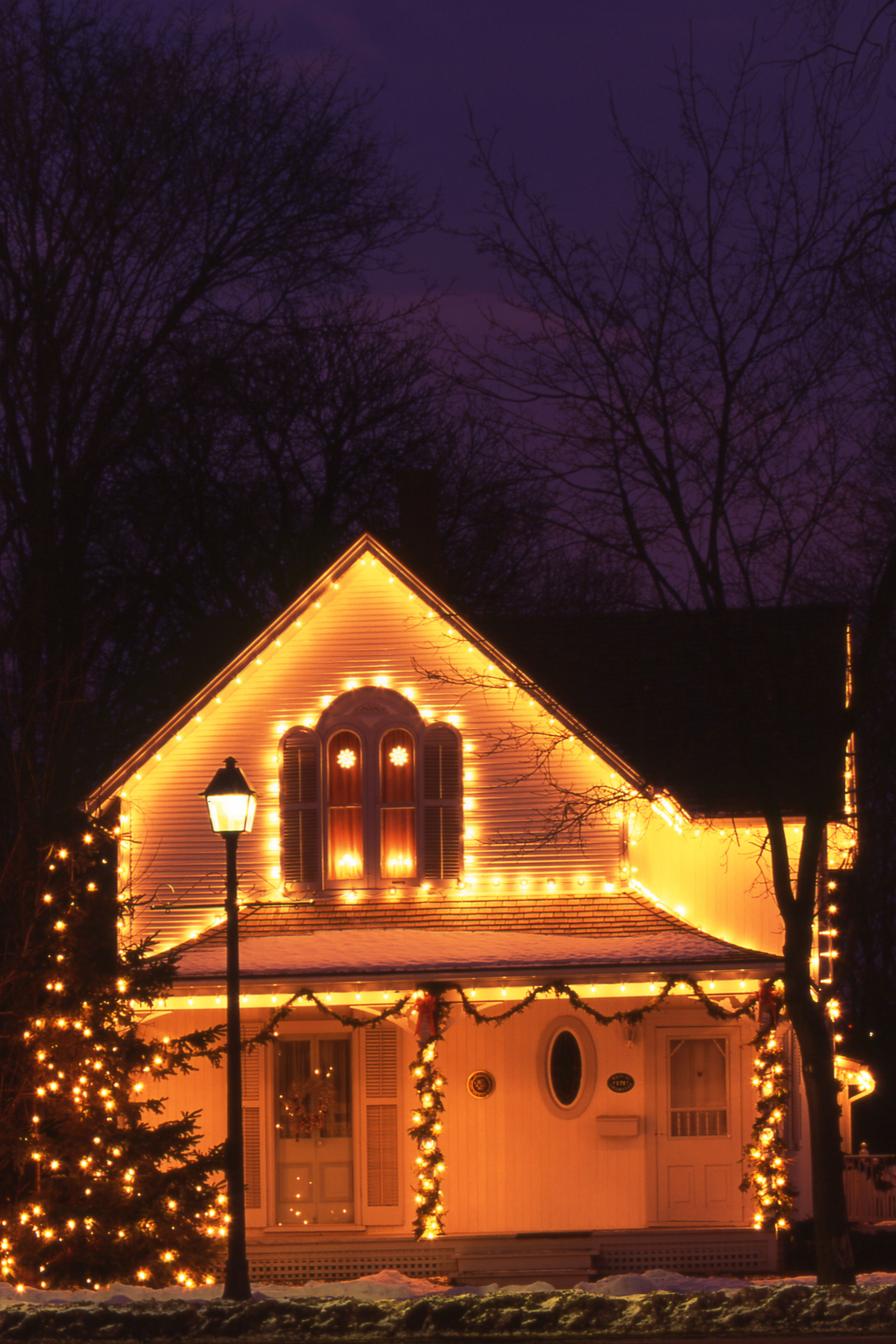house christmas lights 20 outdoor light decoration ideas outside 13095