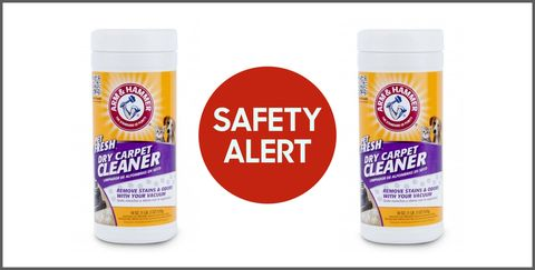 Dry Carpet Cleaning Powder Recalled Due To Bacteria