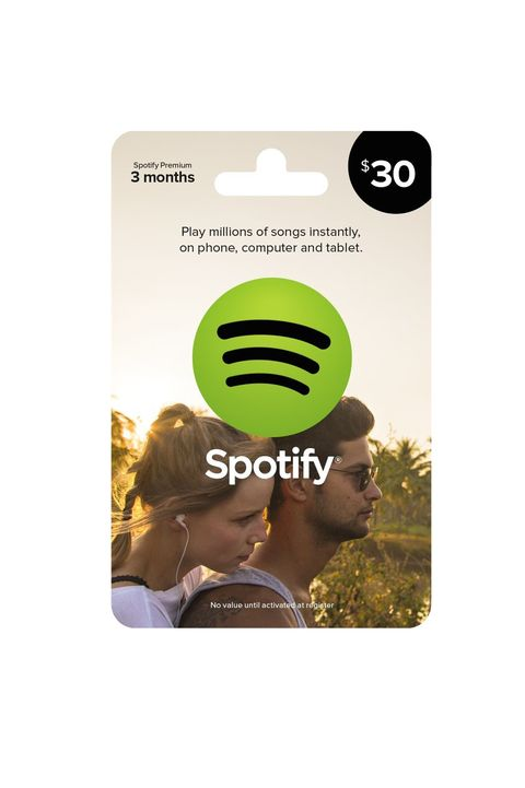 Spotify Gift Card Last Minute Gift Ideas