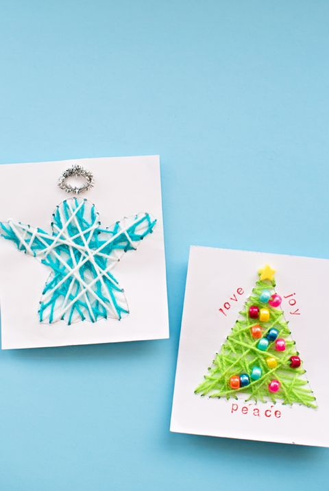 Handmade Religious Christmas Cards.39 Diy Christmas Cards Homemade Christmas Card Ideas 2019