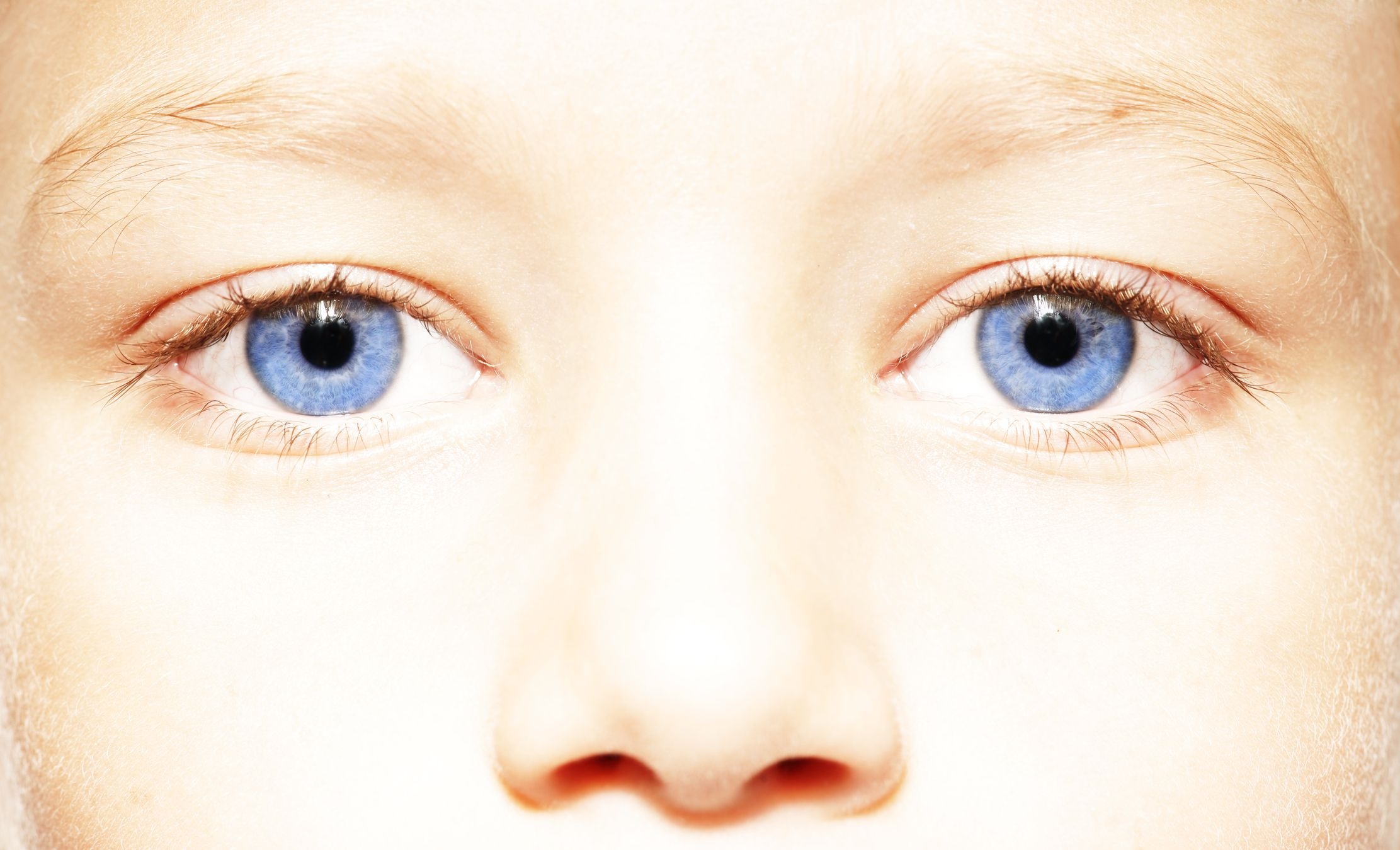 If You Have Blue Eyes Theyre Actually Brown And You Just Dont