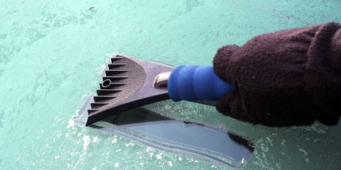 Scraping Off Ice Is the Law