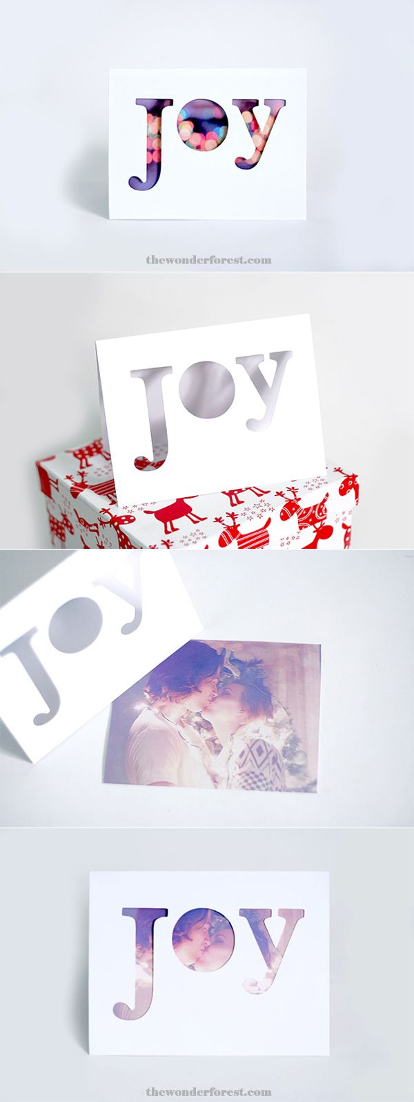36 diy christmas cards how to make homemade holiday cards kristyandbryce Image collections