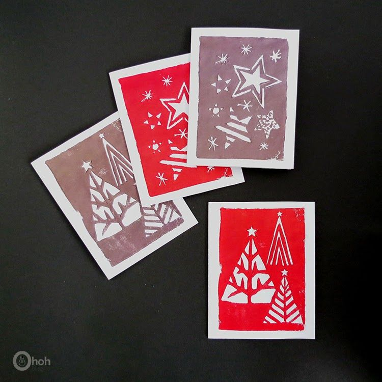 36 DIY Christmas Cards - How to Make Homemade Holiday Cards