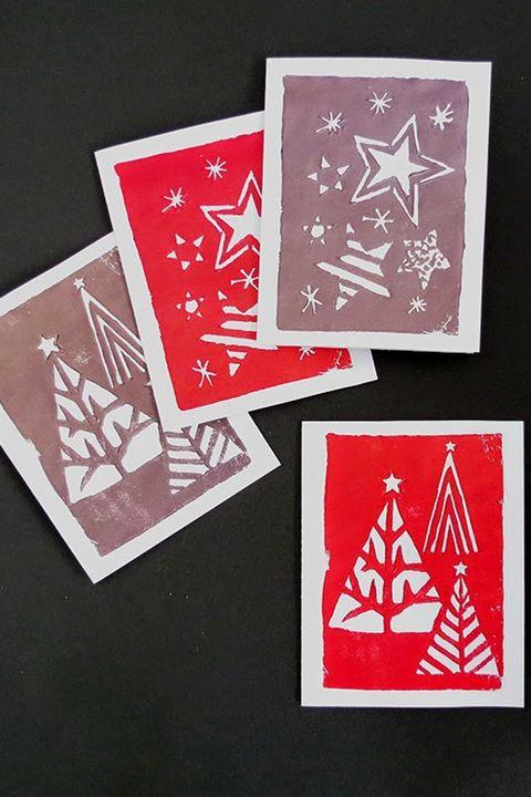 42 Diy Christmas Cards Homemade Christmas Card Ideas 2020