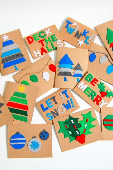 40 Diy Christmas Cards Homemade Christmas Card Ideas 2020