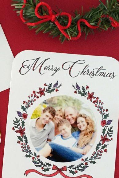Clever Christmas Cards Ideas.39 Diy Christmas Cards Homemade Christmas Card Ideas 2019