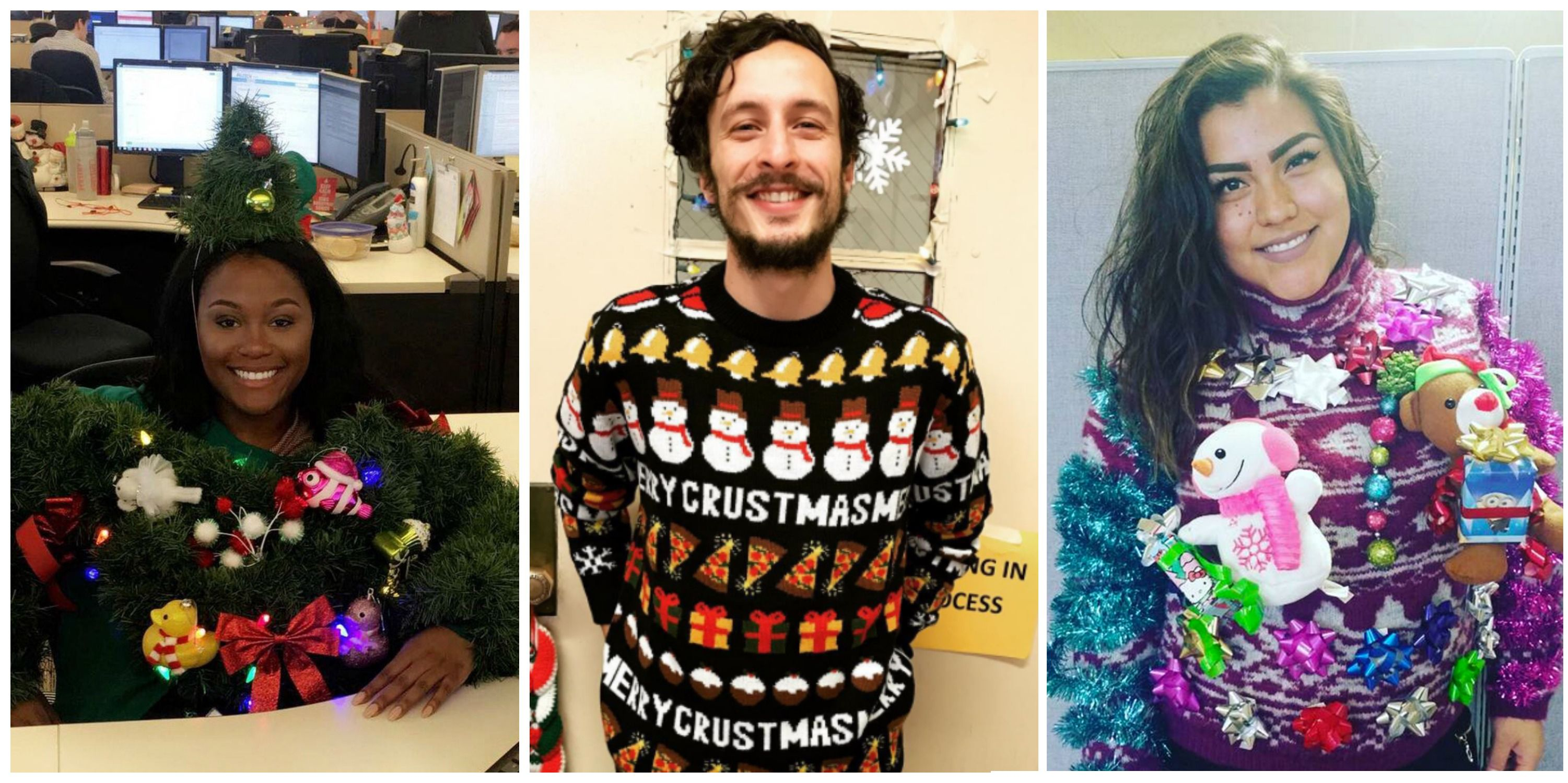 The Best Of The Worst Ugly Christmas Sweaters 2016s Best Ugly