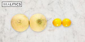 melon and lemon comparison