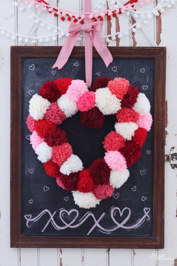 40 Easy Valentine S Day Crafts Diy Decorations For Valentine S Day