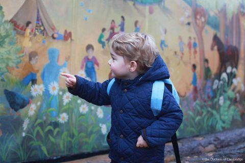 <p>The young prince before enteringWestacre Montessori School.</p>