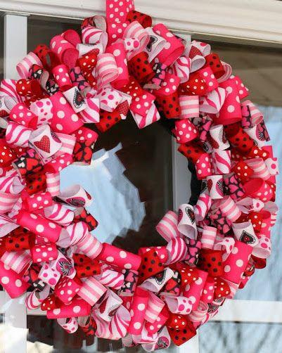 33 Diy Valentine S Day Wreaths