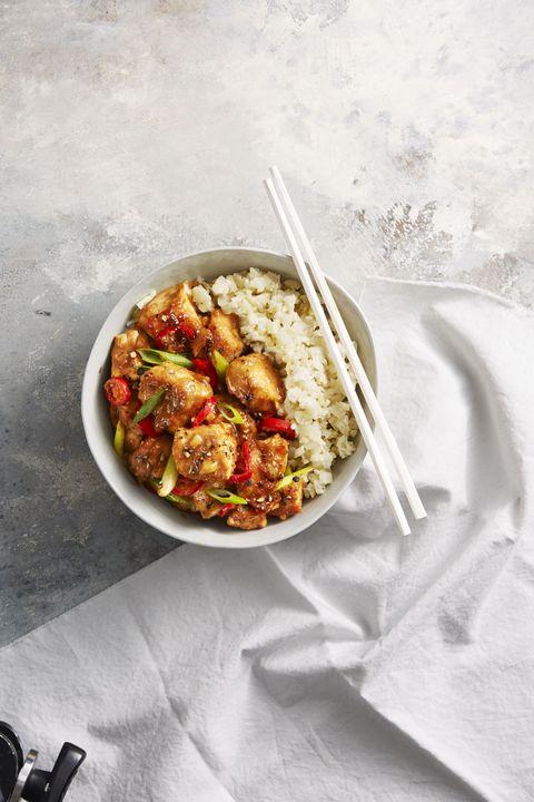 chicken breast recipes - Spicy Chicken Miso Stir-Fry