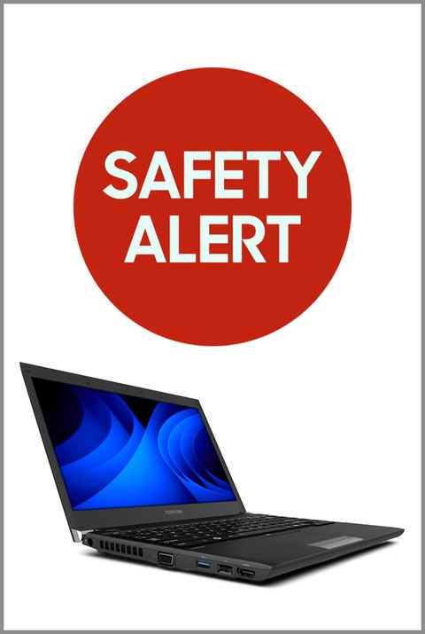 Toshiba Laptops Recalled Because Battery Pack Can Overheat