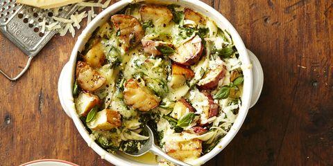 Spinach and Gruyere Potato Casserole