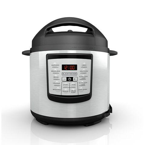 Black + Decker 6 Quart Pressure Cooker #PR100