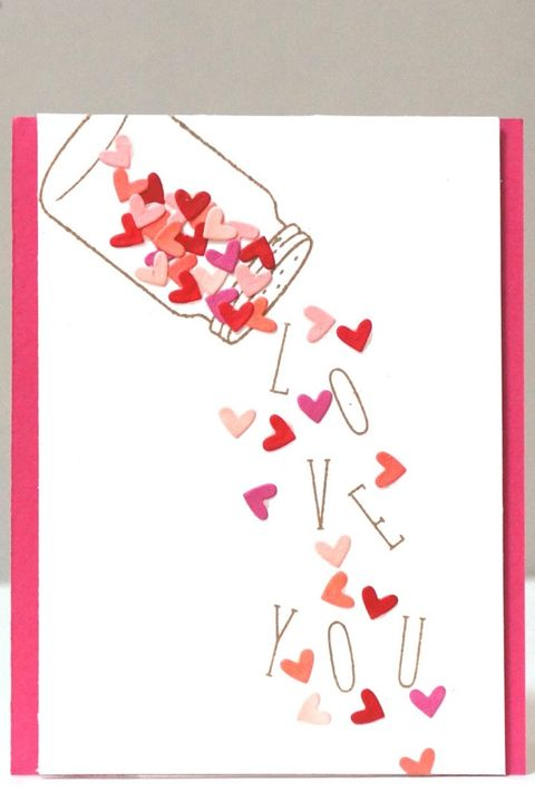 17 Diy Valentine S Day Cards Homemade Ideas For Valentines Day Cards