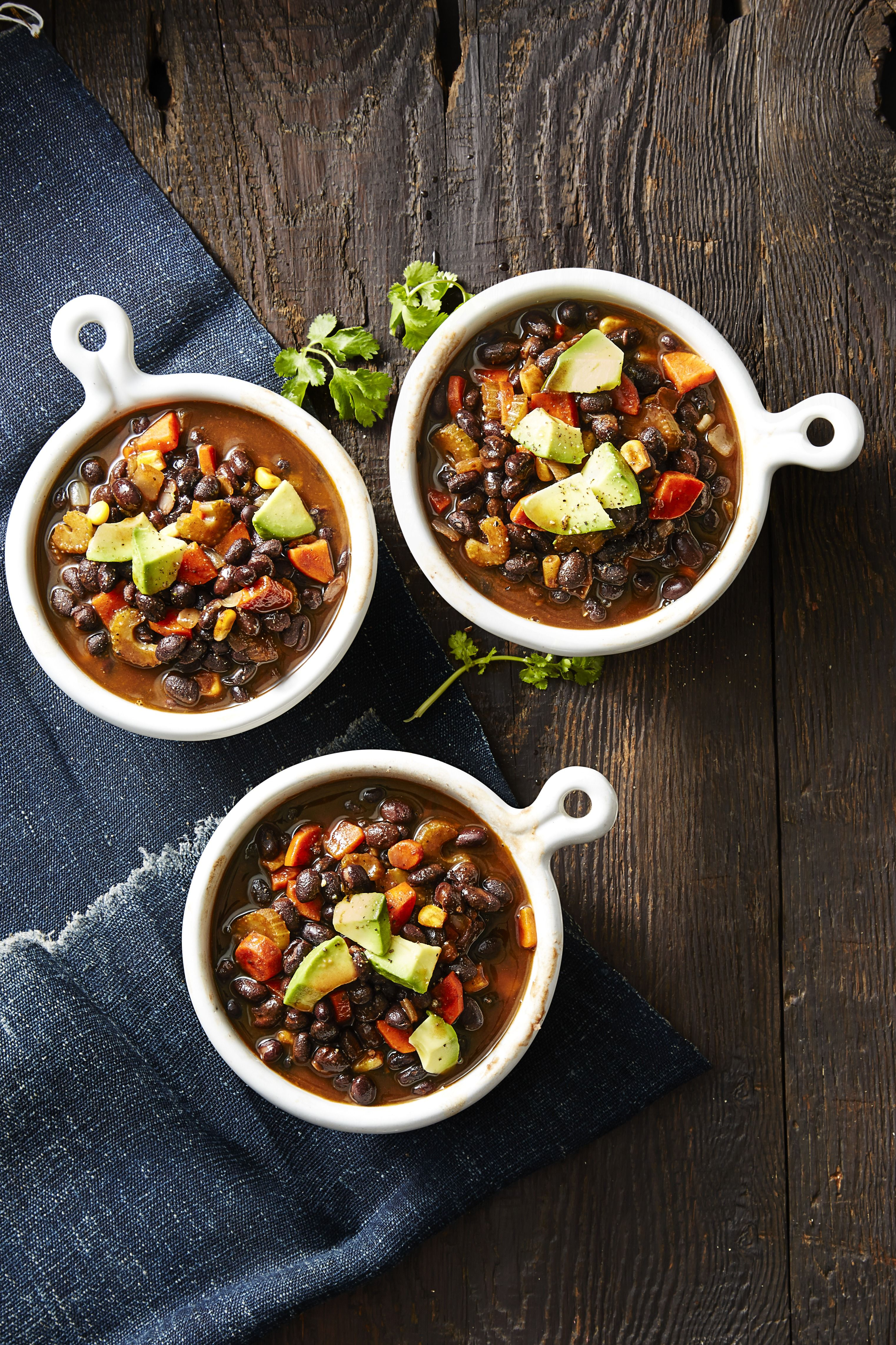 Smoky Black Bean Soup - Vegan Recipes