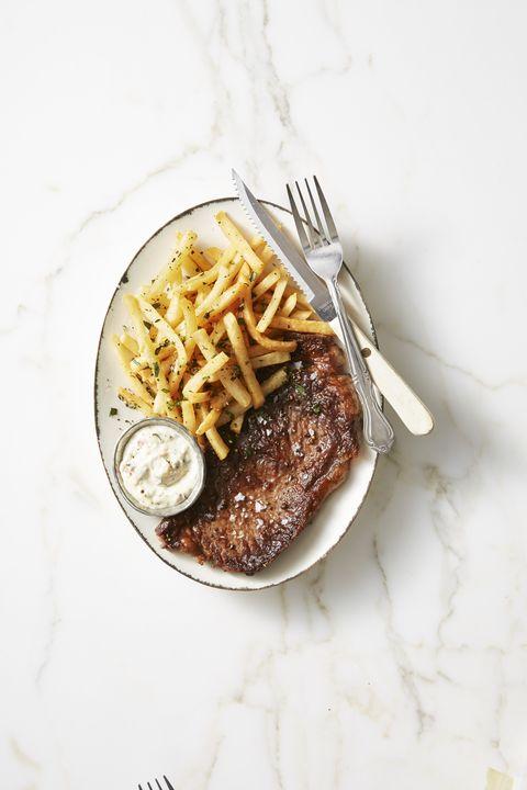 Faster Steak Frites - Valentine's Day Dinner Ideas