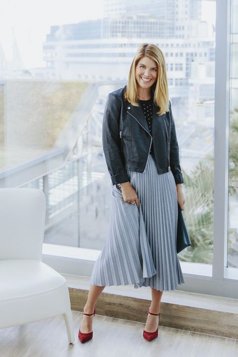"<p>Also called the midi,&nbsp;it's the happy figure-flattering&nbsp;option between&nbsp;mini and maxi. Toughen&nbsp;up prim pleats with a cool&nbsp;moto jacket.</p><p><em data-redactor-tag=""em"" data-verified=""redactor""><strong data-redactor-tag=""strong"" data-verified=""redactor"">Jacket,</strong> $33, <a href=""http://www.forever21.com"" target=""_blank"" data-tracking-id=""recirc-text-link"">forever21.com</a>.&nbsp;<strong data-redactor-tag=""strong"" data-verified=""redactor"">Sweater, </strong>$155, <a href=""http://www.michaelkors.com/"" target=""_blank"" data-tracking-id=""recirc-text-link"">michaelkors.com</a><span class=""redactor-invisible-space"" data-verified=""redactor"" data-redactor-tag=""span"" data-redactor-class=""redactor-invisible-space""></span>. <strong data-redactor-tag=""strong"" data-verified=""redactor"">Skirt,</strong> $195, <a href=""http://www.aritzia.com/"" target=""_blank"" data-tracking-id=""recirc-text-link"">aritzia.com</a>.&nbsp;<strong data-redactor-tag=""strong"" data-verified=""redactor"">Ring, </strong>$25, <a href=""http://www.dillards.com"" target=""_blank"" data-tracking-id=""recirc-text-link"">dillards.com</a>. <strong data-redactor-tag=""strong"" data-verified=""redactor"">Flynn clutch</strong><strong data-redactor-tag=""strong"" data-verified=""redactor"">,</strong> $195, <a href=""http://www.shopbop.com"" target=""_blank"" data-tracking-id=""recirc-text-link"">shopbop.com</a>.&nbsp;</em><em data-redactor-tag=""em"" data-verified=""redactor""><strong data-redactor-tag=""strong"" data-verified=""redactor"">Heels,</strong> $110, <a href=""http://www.aldoshoes.com"" target=""_blank"" data-tracking-id=""recirc-text-link"">aldoshoes.com</a>.</em></p><p><strong data-redactor-tag=""strong"" data-verified=""redactor"">TRAVEL TIP:</strong><em data-redactor-tag=""em"" data-verified=""redactor"">&nbsp;</em>Check in at the <a href=""http://www.fairmont.com/pacific-rim-vancouver"" target=""_blank"" data-tracking-id=""recirc-text-link"">Fairmont Pacific Rim</a>&nbsp;for Jetsons-style&nbsp;accommodations (e.g.,TVs in the bathroom mirrors&nbsp;and iPad-controlled curtains)&nbsp;and tip-top service, all in&nbsp;Vancouver's buzzing&nbsp;downtown. Choose stunning&nbsp;views of the city or the calm&nbsp;scenery of Vancouver&nbsp;Harbour.</p><p><span data-redactor-tag=""span"" data-verified=""redactor""></span></p>"