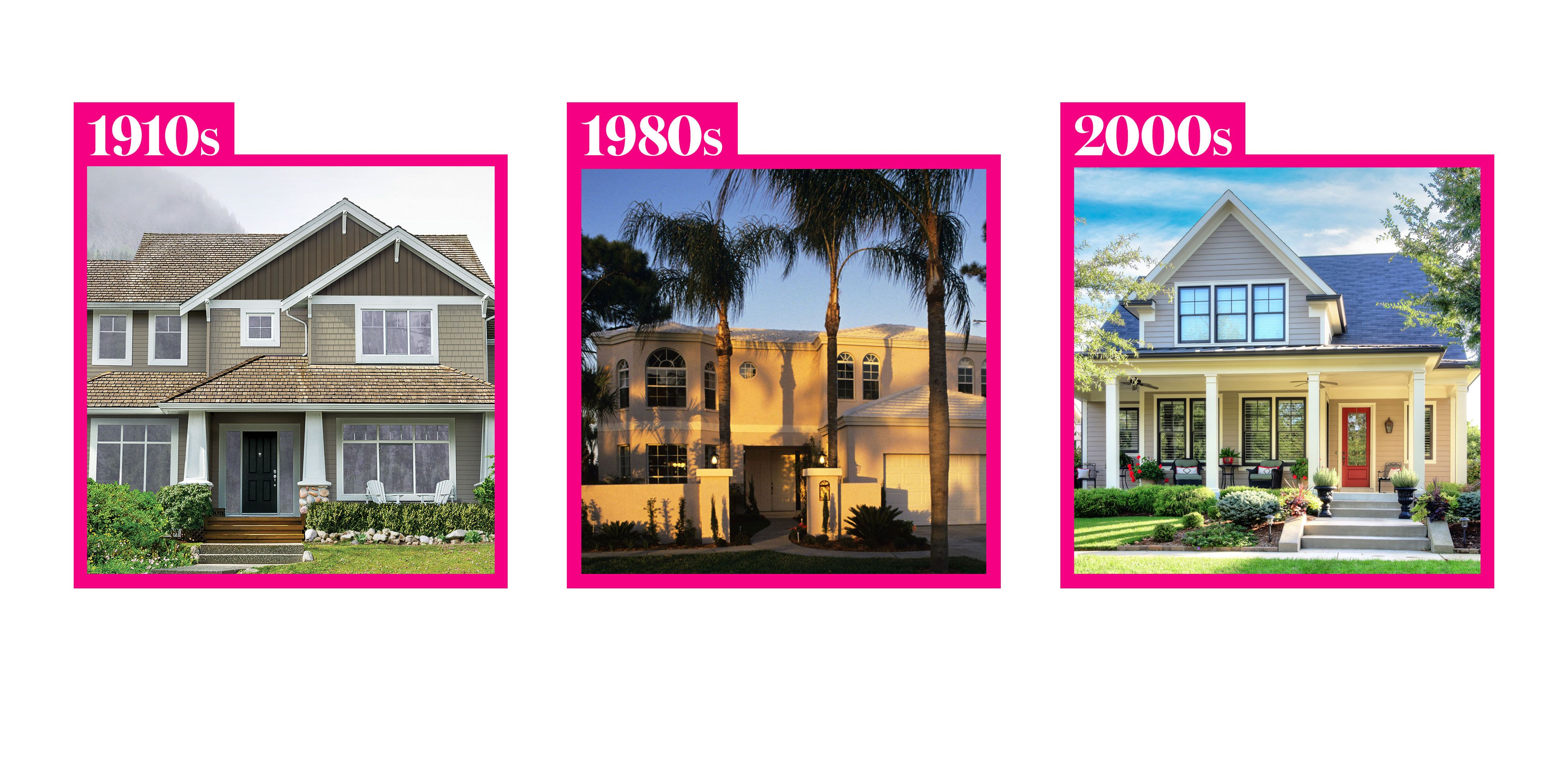 Home Exterior Trends - How Home Exterior Trends Have Evolved Through