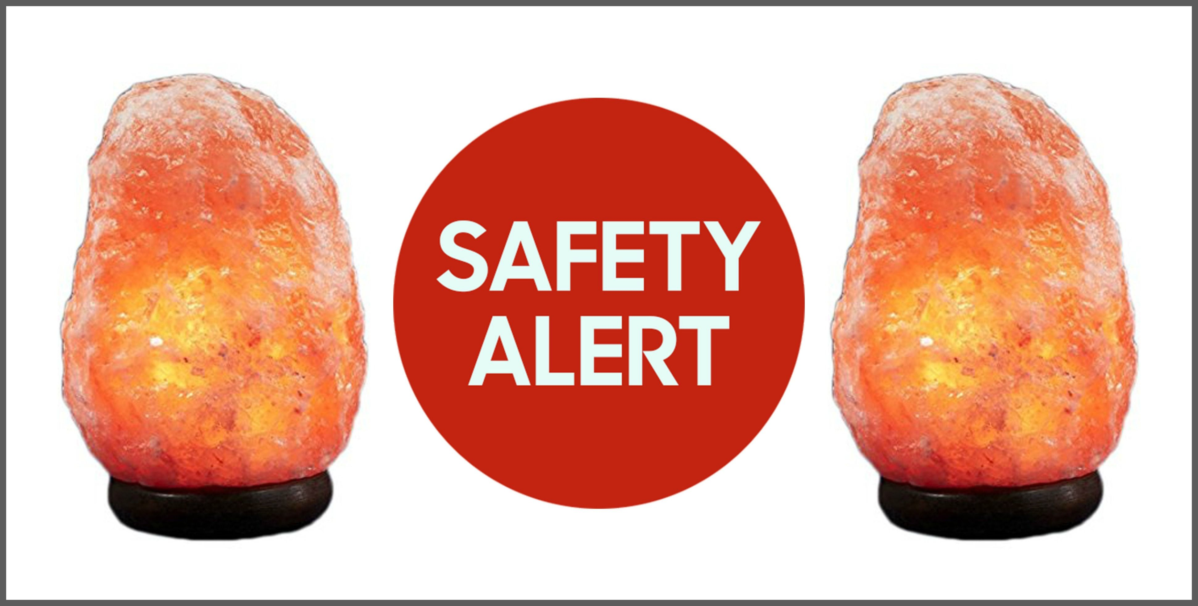 Himalayan Rock Salt Lamps Recalled Due to Fire Risk - Dangers of