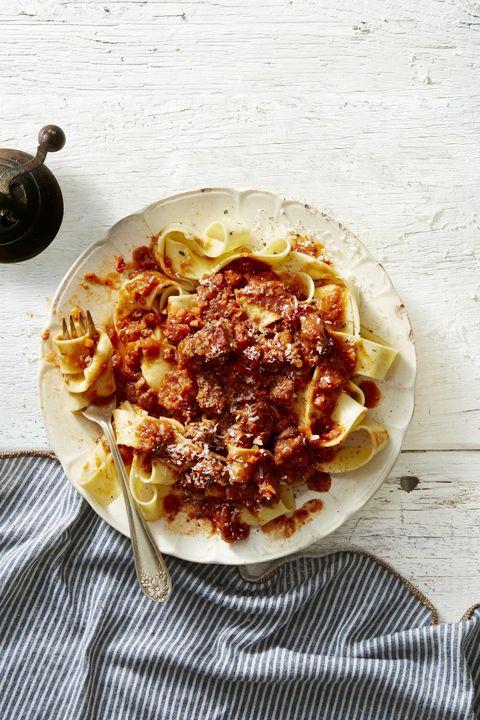 tuscan ragu pasta