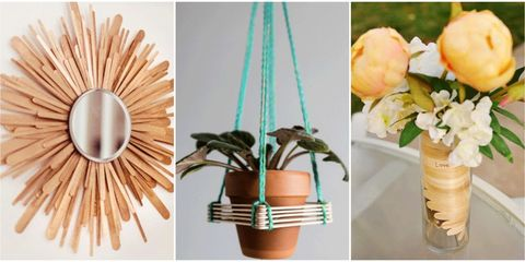30 Creative Popsicle Stick Crafts - Easy DIY Ideas with