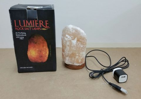 Himalayan Rock Salt Lamps Recalled Due To Fire Risk