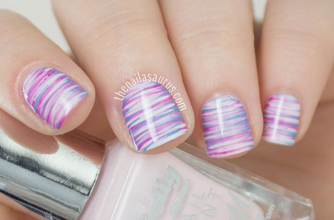 How To Use Nail Art Brushes With Nail Polish Hession Hairdressing