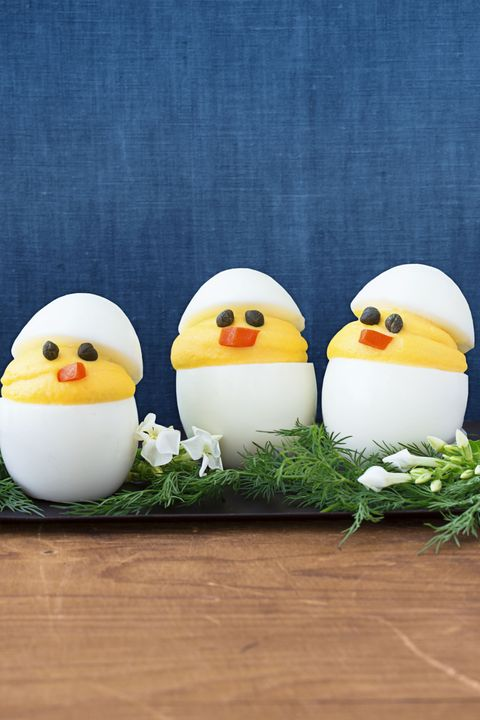 Deviled Chicks - Easter Appetizers
