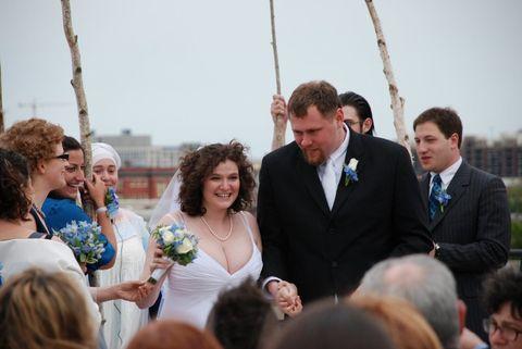 Lea Grover wedding