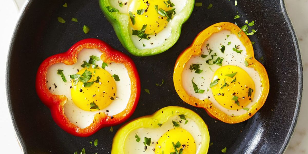 Best Sunny Side Eggs Recipe How To Make Sunny Side Up Eggs In Pepper Rings